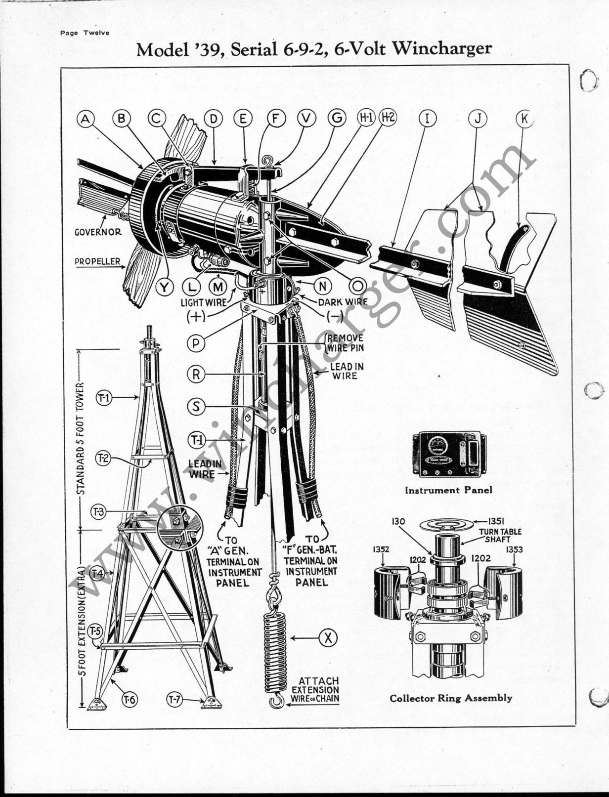 free  6v part diagrams